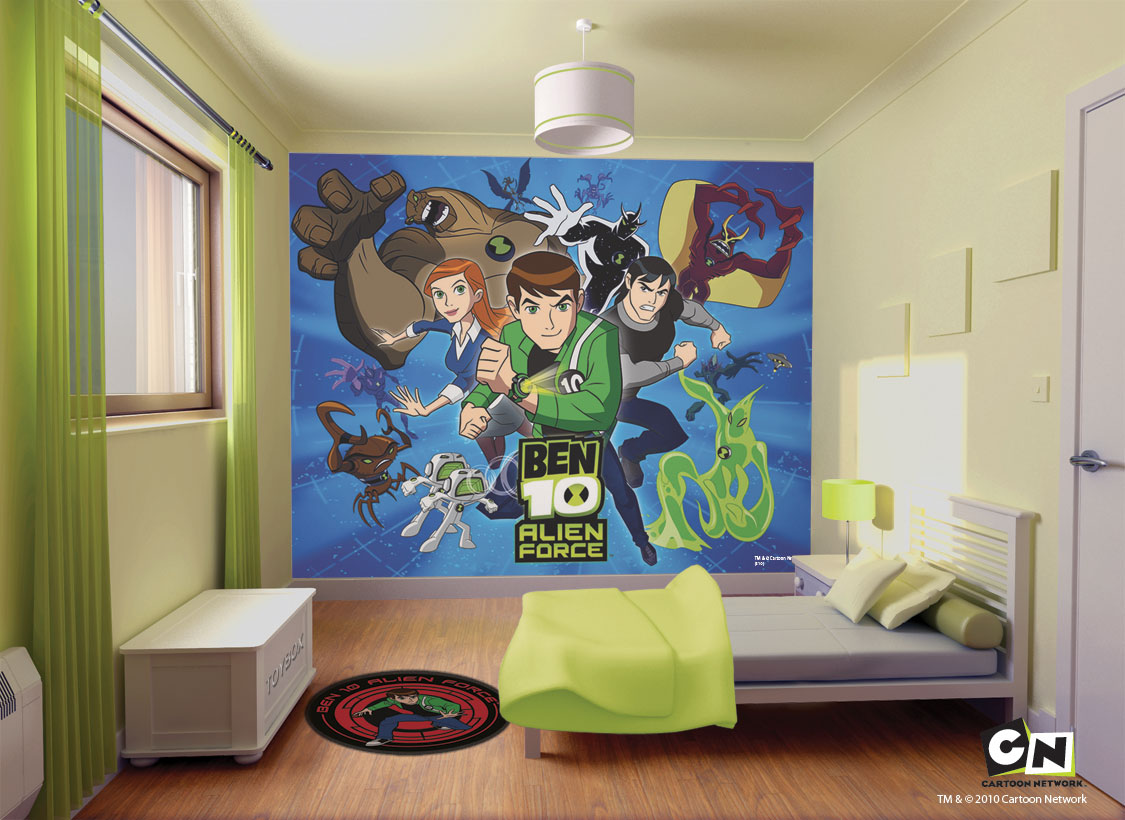Kids wallpaper murals 1000sads for Childrens wallpaper mural