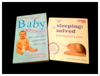 2 books about baby`s sleep for sale