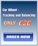 Car Wheel –  Tracking and Balancing