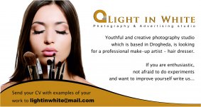 Looking for a professional make-up artist - hair dresser
