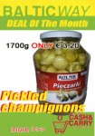 Rolnik pickled champignons 1700ml € 3.20 Baltic Way Kovo Nuolaidos