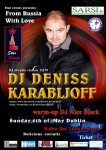 Star Events Presents: From Russia With Love with DJ Deniss Karabljoff