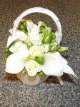 Wedding flowerd flower girl ideas