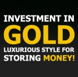 Investments into gold and the decent income.
