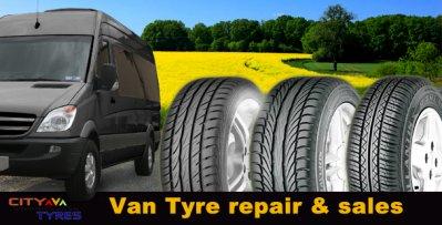 We sell & repair VAN Tyres