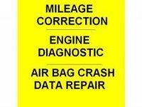 Diagnostics, AirBag repair, Mileage correction, ECU repair, electrician/mechanic