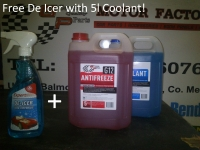 Special Winter Offer! Buy any Antifreeze or Screenwash Get Free De-Icer!