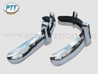 VW Beetle bumper EU style with overrider 1955-1967