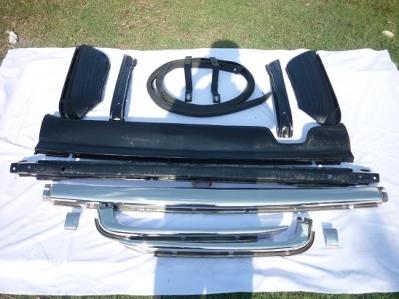 Mercedes Benz W107 bumper