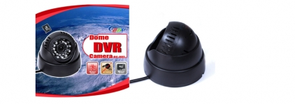 Special Offer Motion Detection Night Vision Security DVR Dome Camera SD-Card