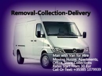Removal - collection - delivery