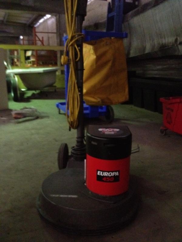Victor Europa 450 High Speed Floor Buffer Polisher 1000sads