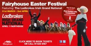 Easter Festival at Fairyhouse Racecourse 2013