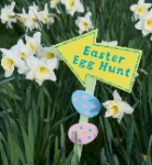 Easter Egg Hunt in the Victorian Walled Garden at Kylemore Abbey 2013