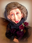 one of a kind art dolls, witches, fairies, babies and paintings