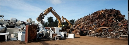 Save the Environment and Make more money, buy selling you scrap metal waste...