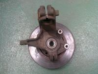 bearing hub with brake disc