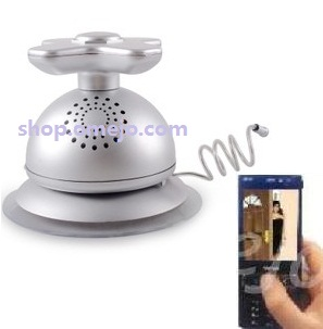 Bathroom Hidden Waterproof Radio Spy Camera Wireless Spy Cell Phone Receiver 1000sads
