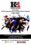 World Amateurs K1 Ireland Fight Night July 27 2013