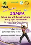 Zumba with Charlene Charity project Lituania Ireland 2013 Monaghan