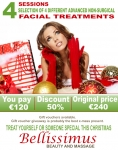 Great Christmas Deal Selection of 4 different advanced Non-surgical FACIAL TREATMENTS