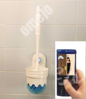 Wireless Toilet Brush Hidden Camera 1000sads