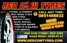 Part worn and new winter Tires in Dublin
