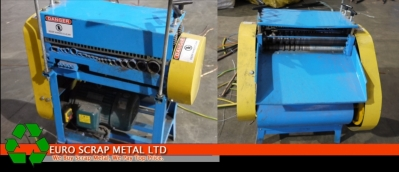 Scrap Cable Wire stripper machinery and equipment supplied in Ireland by Euro Scrap Meta
