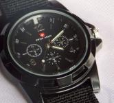 Luxury Analog Swiss Army Military Style Wrist Watch