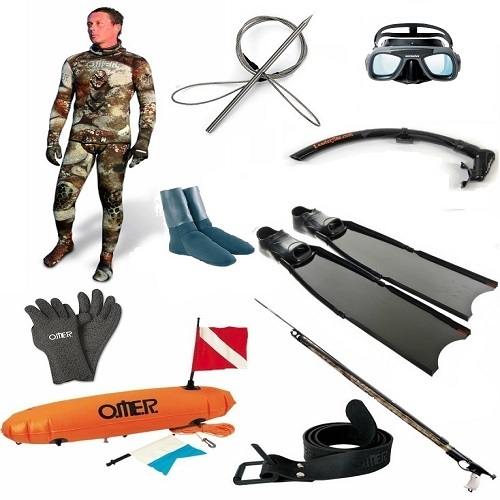 Image gallery spearfishing gear for Fishing equipment rental