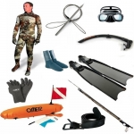 Spearfisher-Multi-pack 10 Spearfishing gear and equipment