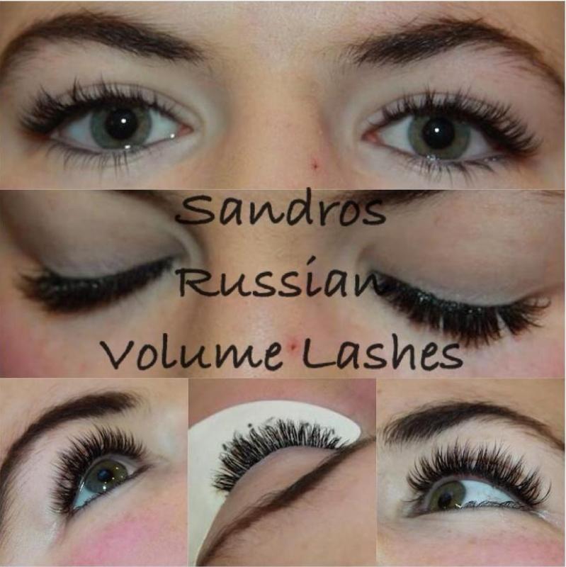 Russian Volume Lashes 2d3d4d5d6d7d 1000sads