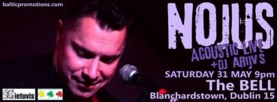 Nojus Acoustic Live Concert in Dublin