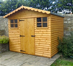 Wood max europe products log cabins summerhouses 1000sads for Name something you keep in a garden shed