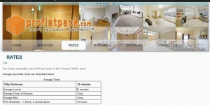 Shop on line at IKEA Delivery and Assembly Rates Dublin