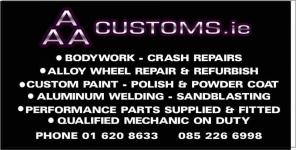 AAA Customs CAR BODY SHOP Naas Road, Dublin 12