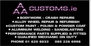 AAA Customs CAR WHEEL REFURBISHMENT Naas Road, Dublin 12