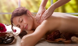 Massage and Reiki Therapy.