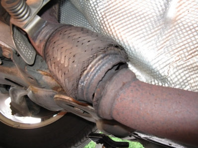 Car Exhaust replacement or repair RG Motors Malahide Ind Park Dublin