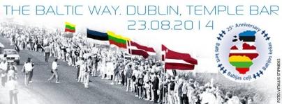 The Baltic Way 25th Anniversary Commemoration in Dublin
