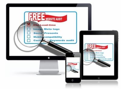 Does your website brings optimum results?  FREE WEBSITE AUDIT