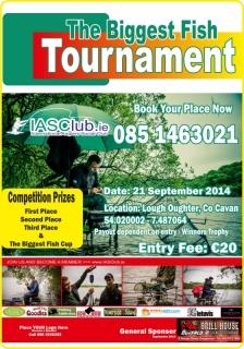 The Biggest Fish Tournament September 2014