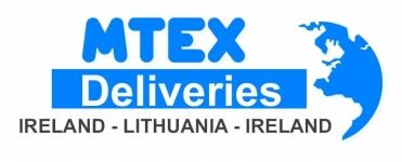 MTEX Siuntos - Saugus Jūsų Krovinių vežėjas   Airija - Lietuva - Airija