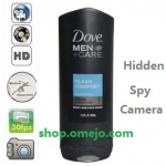 Men Shower gel Camera Remote Control On/Off And Motion Detection Record 32GB