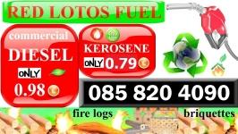Commercial Diesel in Dublin only 0.98€
