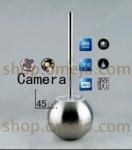 1080P HD Toilet Brush Hidden Splash Bathroom Spy Camera Motion Detection DVR 32GB (camera lens 45 degree up)