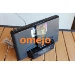 Sony Spy Alarm Clock Radio Camera Hiden HD Spy Camera DVR 1080P 64GB iPod / iPhone Charging Dock