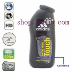 Adidas Shampoo Bottle Camera Remote Control On/Off And Motion Detection Record built in memory 32GB