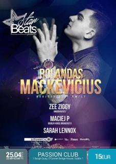 StarBeats presents: ROLANDAS MACKEVICIUS (Zip Fm/Radistai) in DUBLIN