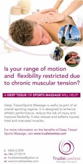 Trudie Lawless Massage Therapist Wicklow